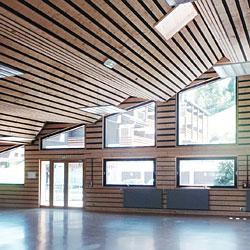 Rénovation salle des fêtes La Clusaz (74)