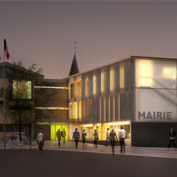 Extension, restructuration de la mairie